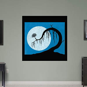 moon by Melissa Moss Fathead Wall Decal